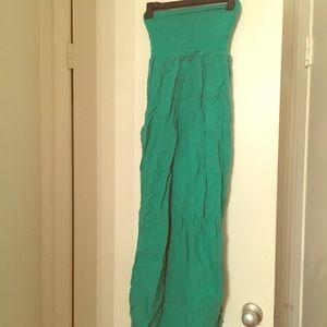 JOLIE Green Maxi Dress